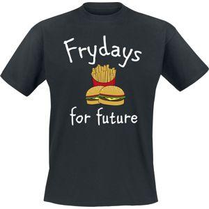 Frydays For Future tricko černá