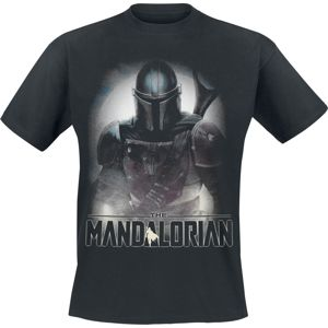 Star Wars The Mandalorian - Fighter tricko černá