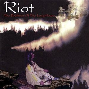 Riot The brethren of the long house CD standard