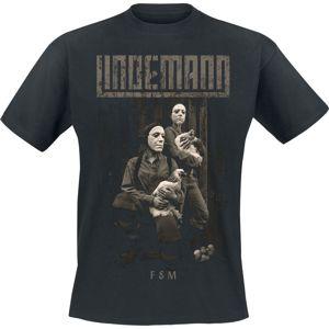 Lindemann F&M tricko černá