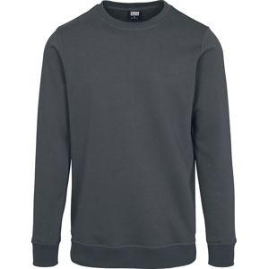 Urban Classics Basic teplákové tričko Mikina charcoal