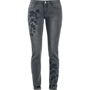 Black Premium by EMP Skarlett Dámské džíny šedá