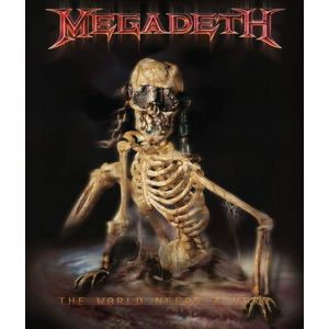 Megadeth The World Needs A Hero 2-LP standard