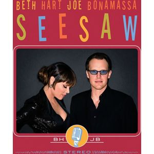Beth Hart & Joe Bonamassa Seasaw CD standard