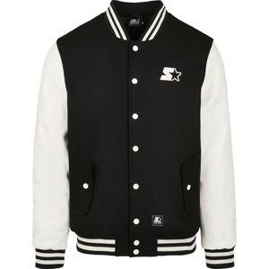 Starter College Jacket bunda College cerná/bílá
