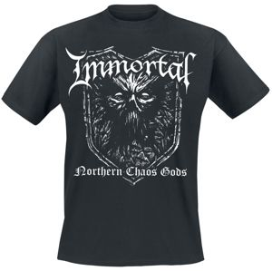 Immortal tricko černá