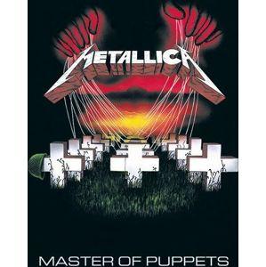 Metallica Master of puppets plakát vícebarevný
