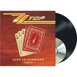 ZZ Top Live in Germany 2-LP & CD standard