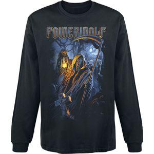 Powerwolf Dead Until Dark Tričko s dlouhým rukávem černá