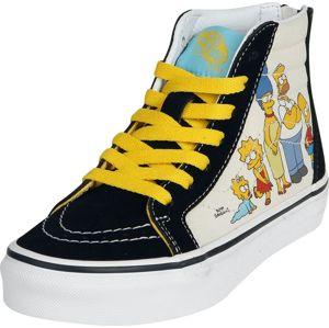 Vans The Simpsons - 1987 - 2020 SK8-Hi Zip dětské boty vícebarevný