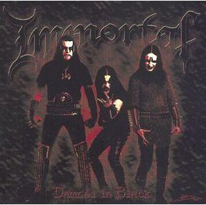 Immortal Damned in black CD standard