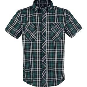Brandit Roadstar košile černá/petrolejová/bílá