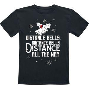 Distance Bells detské tricko černá