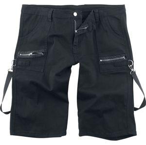 Jawbreaker Bondage šortky Kraťasy černá