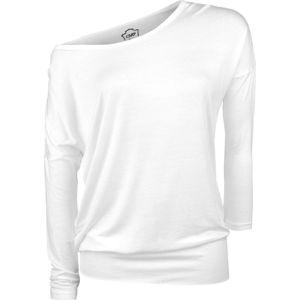 RED by EMP Fast And Loose dívcí triko s dlouhými rukávy bílá