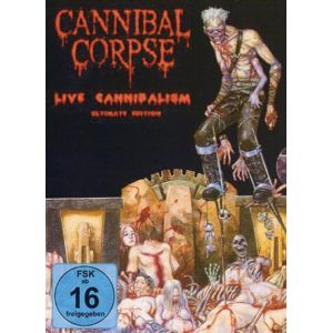 Cannibal Corpse Live cannibalism DVD standard