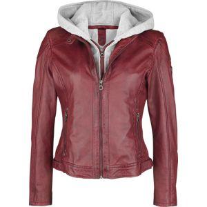 Gipsy Angy S18 LAMAS dívcí kožená bunda červená