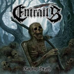 Entrails Raging death LP standard