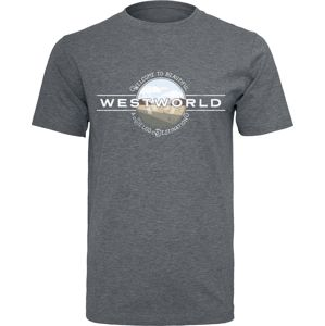 Westworld Welcome To Westworld tricko charcoal